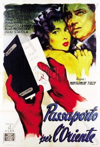 Poster advertising the Italian version